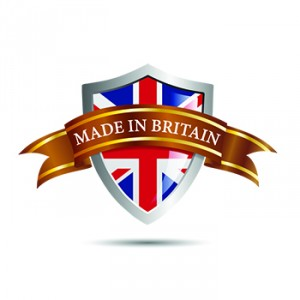 Vector shield made in Britain